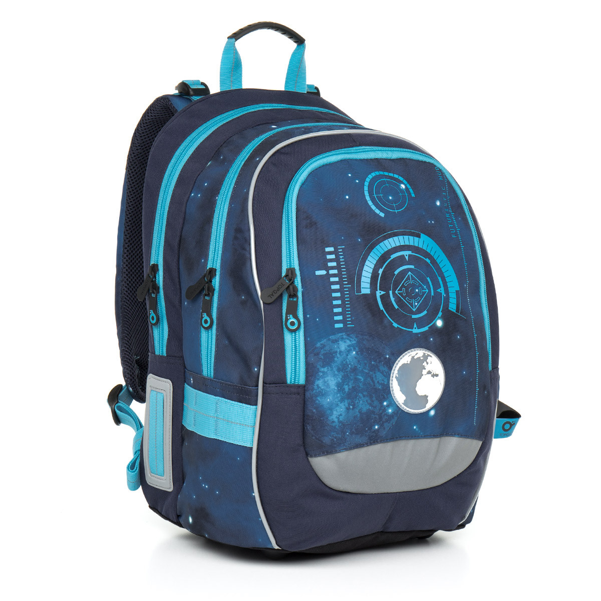 Školní batoh Topgal - CHI 799 D Blue  dcaa02634c