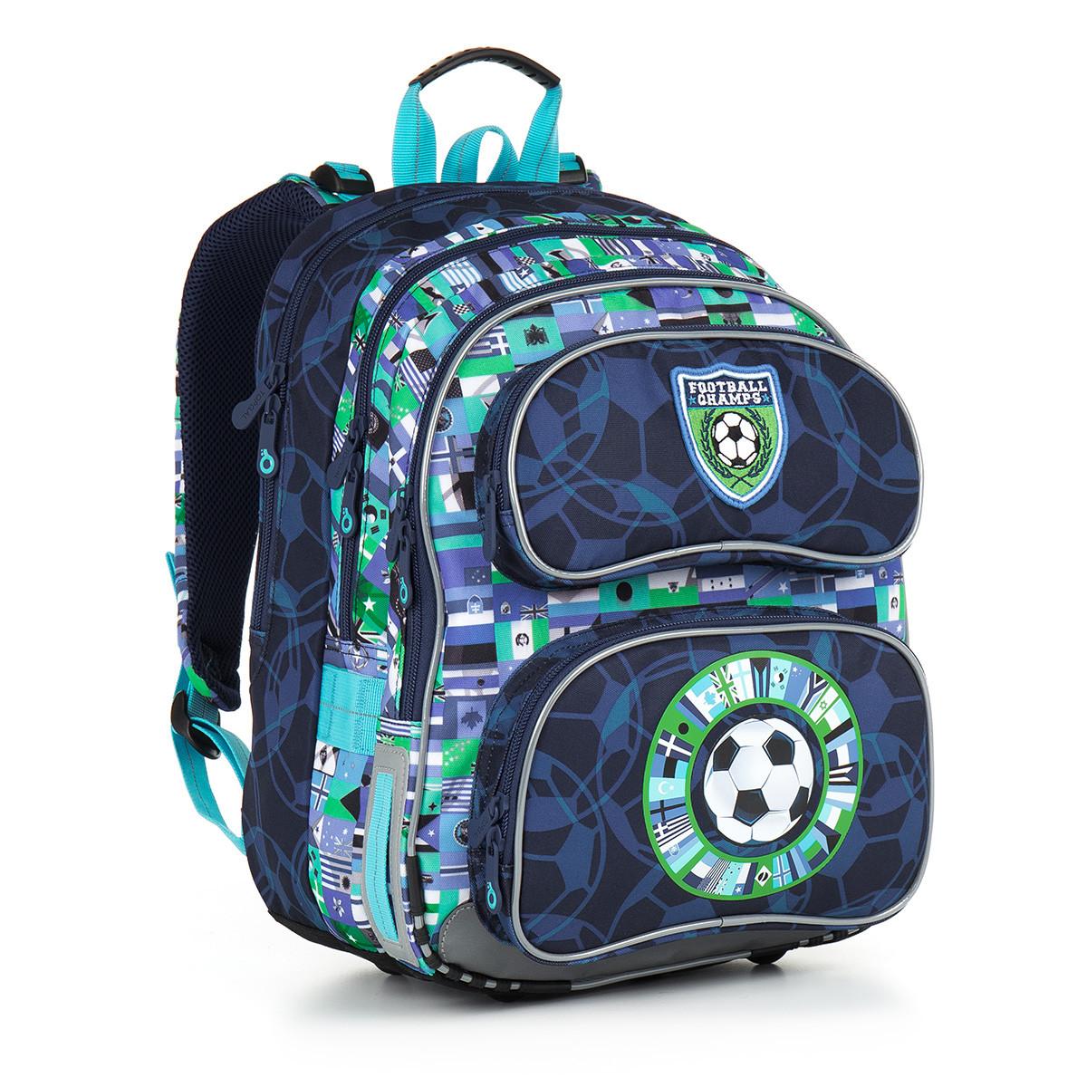 Školní batoh Topgal - CHI 884 D - Blue  94be177db6