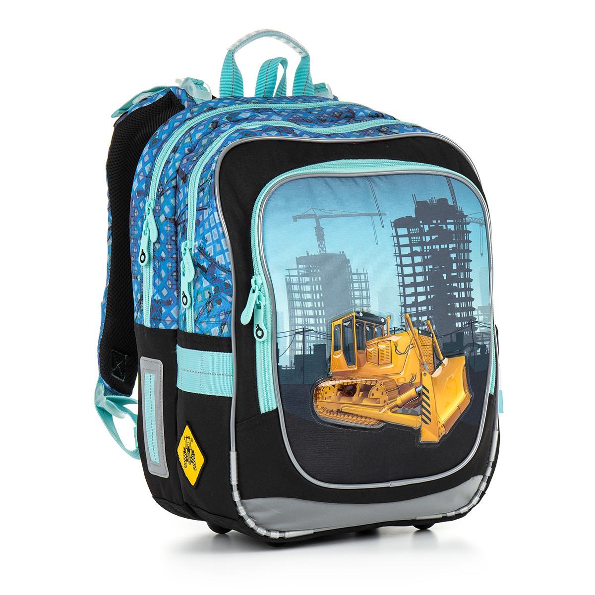Školní batoh TOPGAL - CHI 877 D - Blue  11cd4a9353