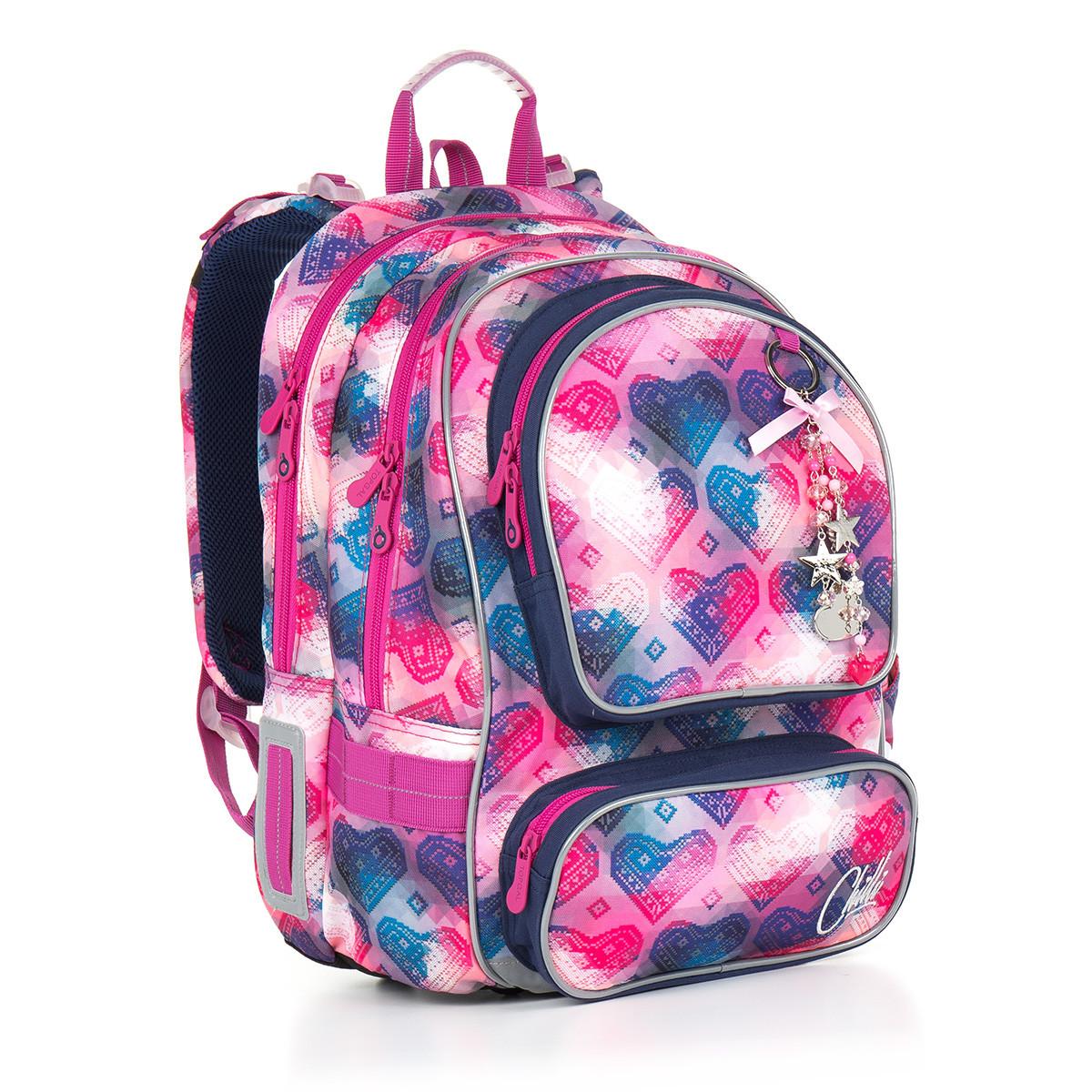 Školní batoh Topgal - CHI 869 H - Pink  02f5d6f596