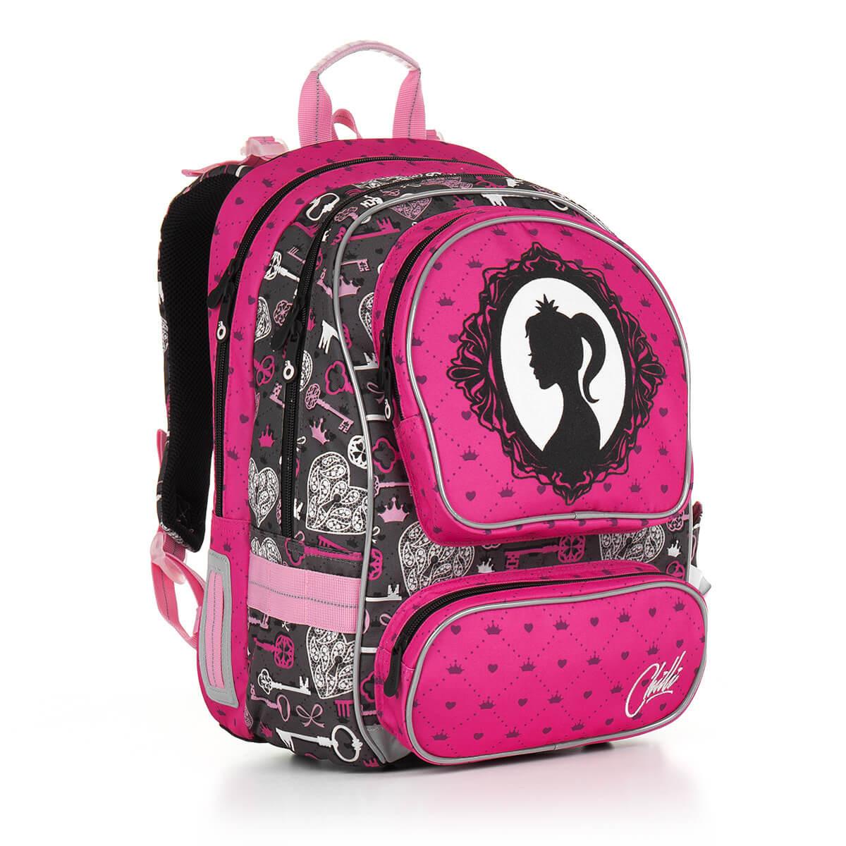 ae8e7a5fc59 Školní batoh Topgal - CHI 875 H - Pink