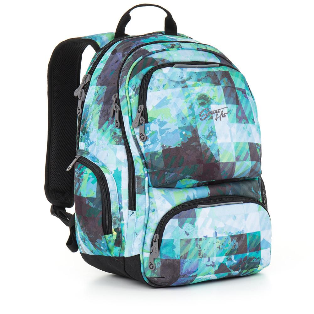 Studentský batoh Topgal - HIT 890 D - Blue  596610058b