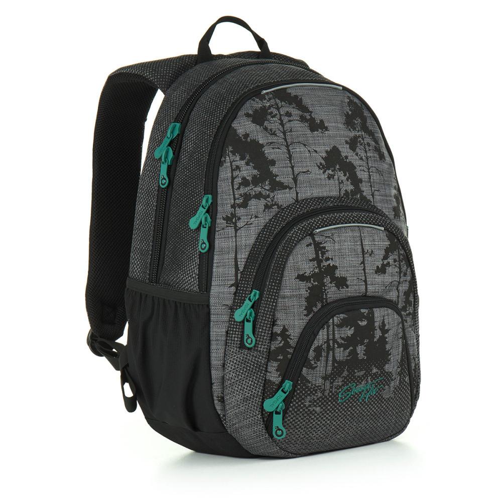 Studentský batoh Topgal - HIT 896 C - Grey  48a5f972a4