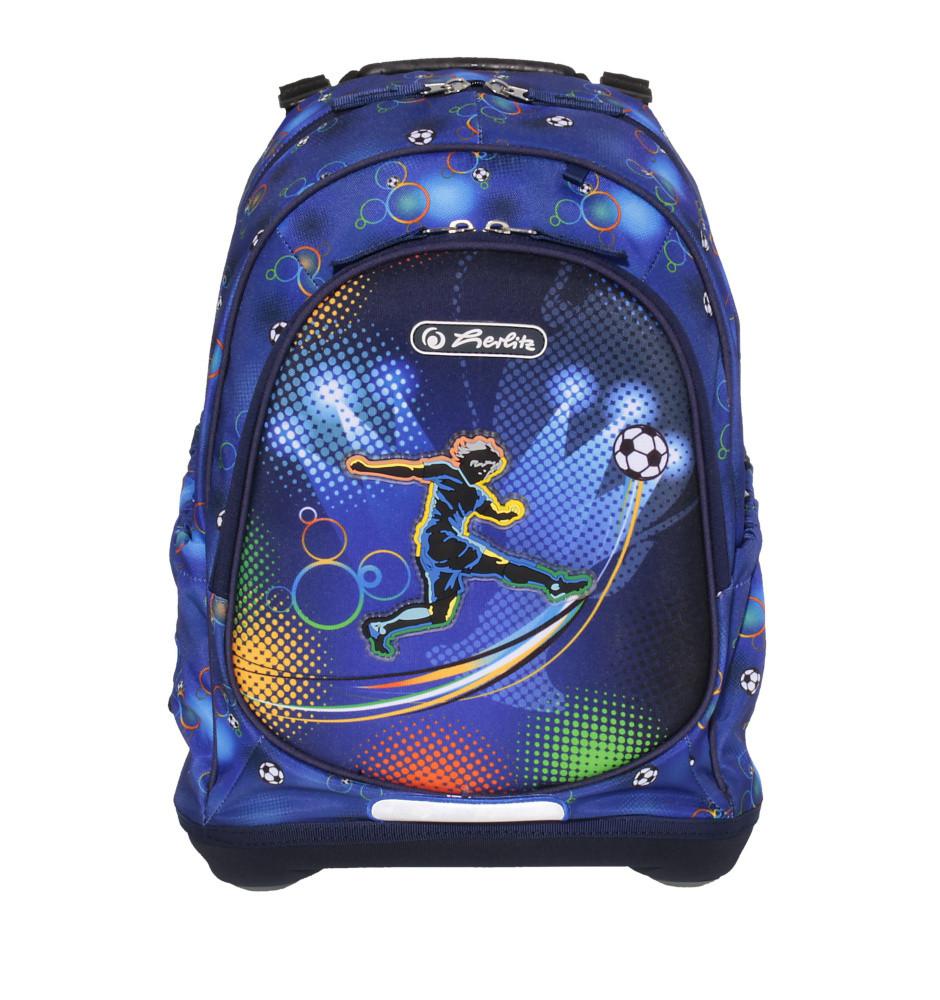 3f9a9d50b4f Herlitz Bliss - fotbal. Sportovní školní batoh ...