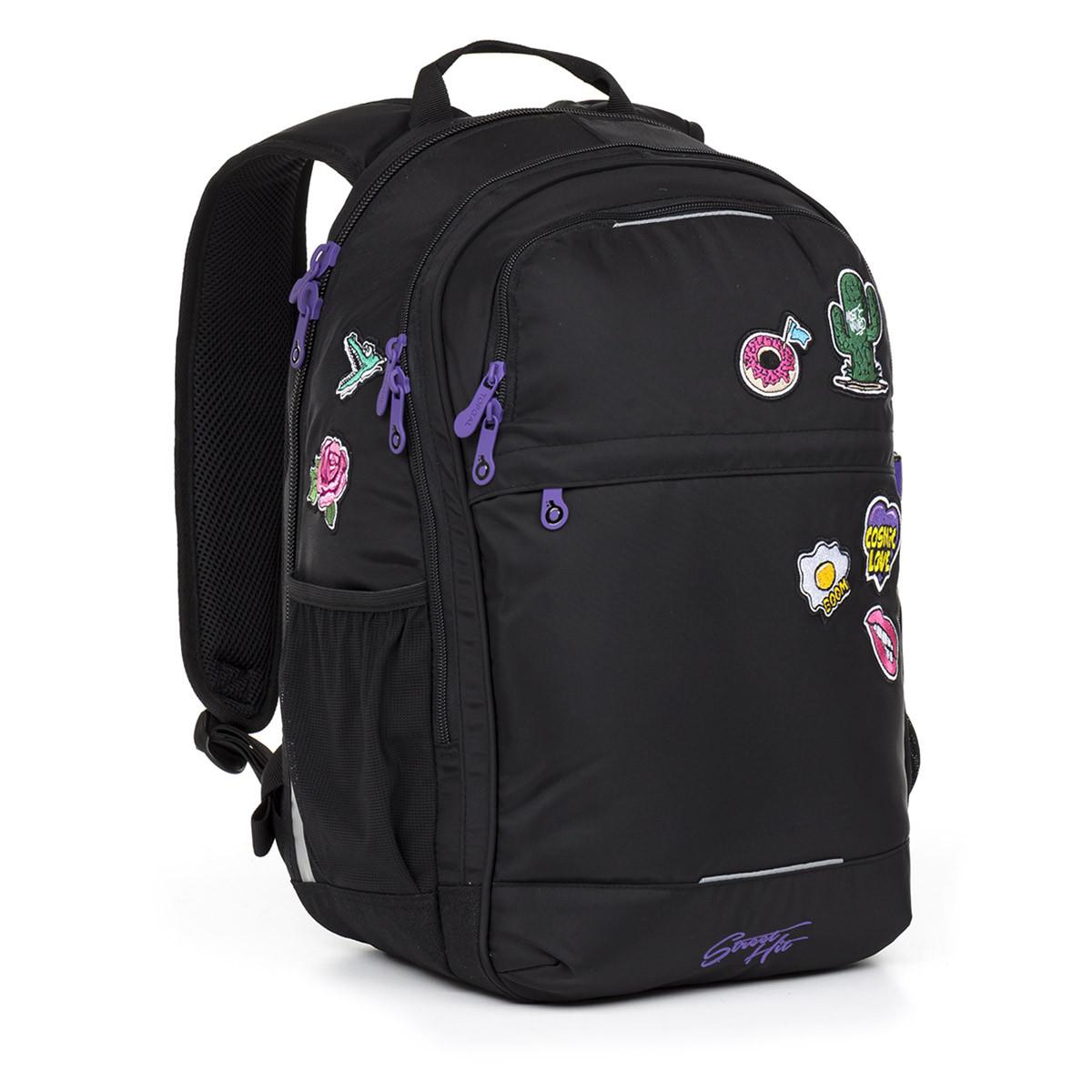 Studentský batoh Topgal - RUBI17007 G  c435b11420