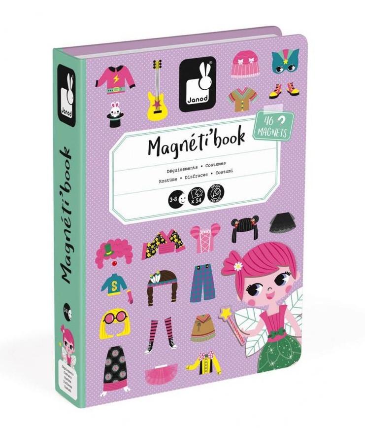 Magnetická kniha - Oblékání dívky  b8fbd763a0