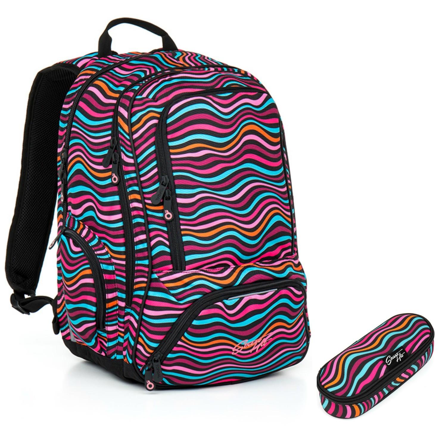 Studentský batoh a penál Topgal - HIT 858 H + HIT 870 H  35f11238ea