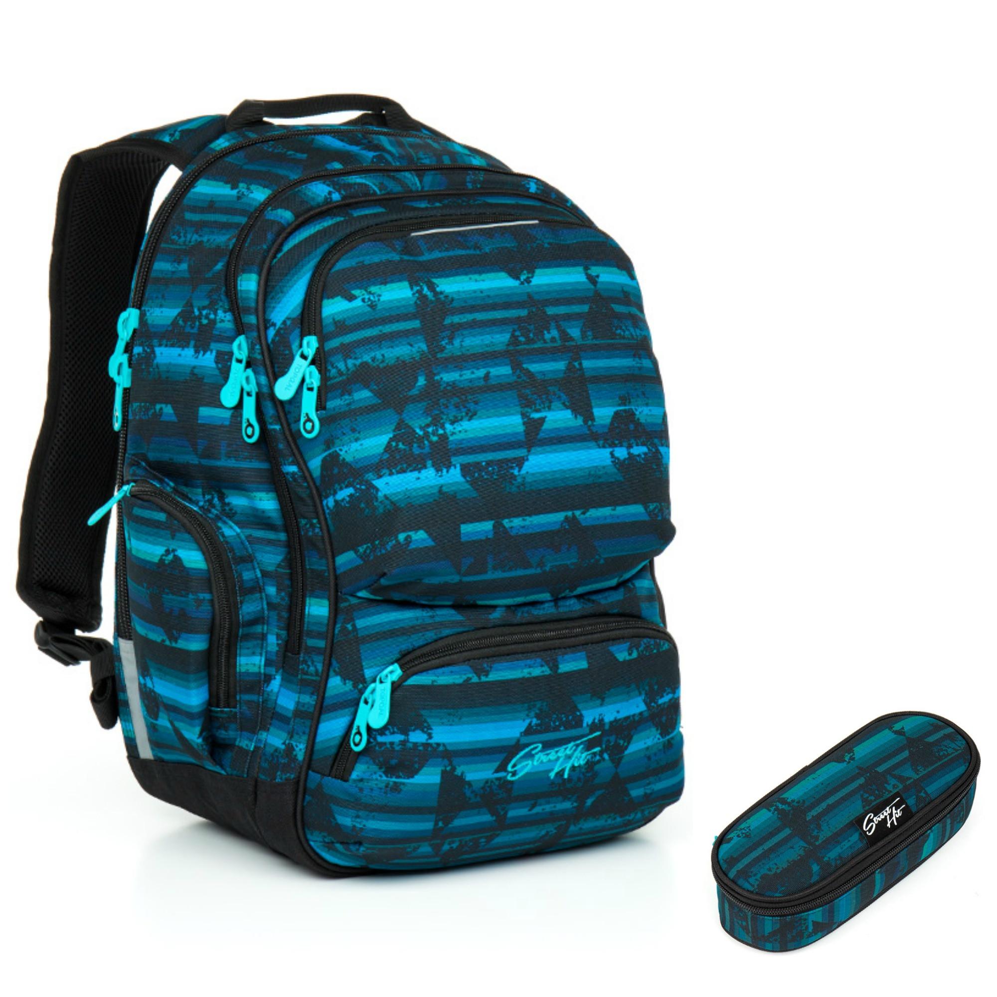 Studentský batoh a penál Topgal HIT 864 D + HIT 876 D  d4e9da59cf