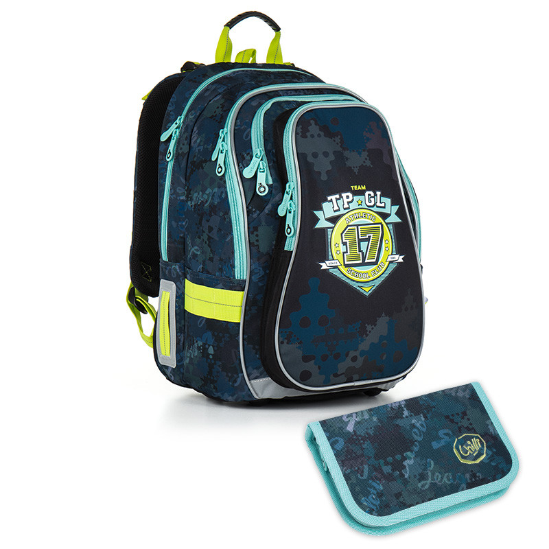 Školní batoh a penál Topgal - CHI 878 D + CHI 911  ca24b8ce1c
