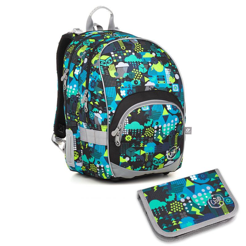 Školní batoh a penál Topgal KIMI 18011 B  0619a3ee5f