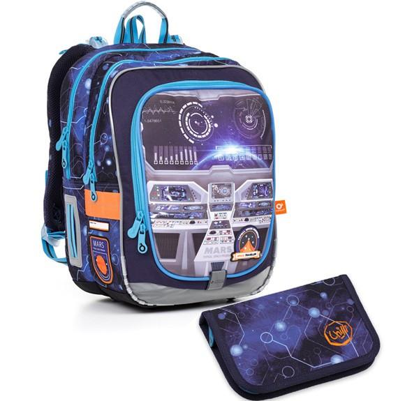 Školní batoh Topgal ENDY 18041 B + penál PENN 17003 B  6e8f1291d4