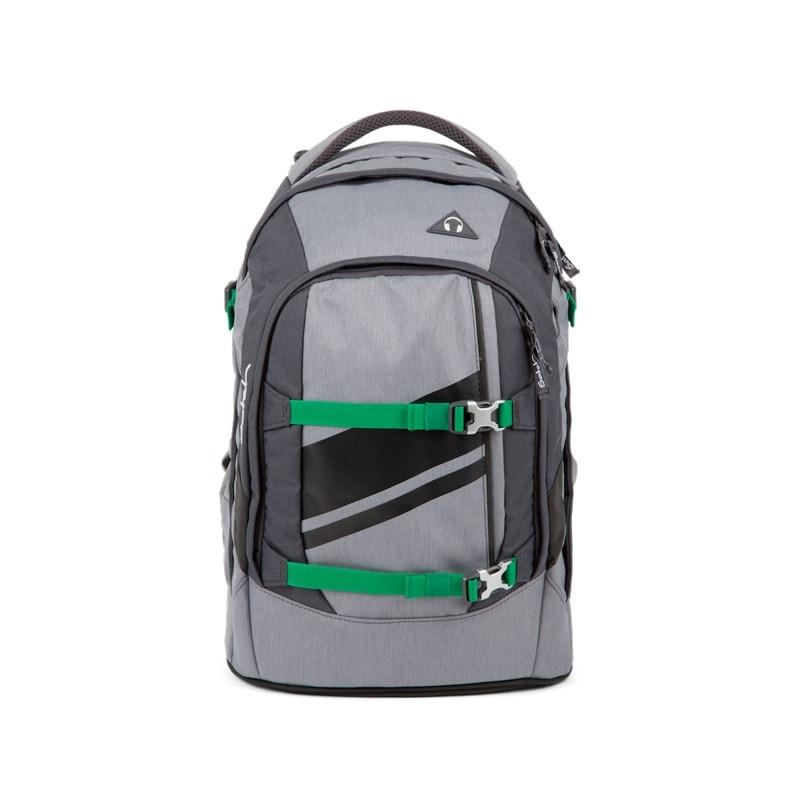 Studentský batoh Ergobag Satch - Blazing Grey  9c64ddf977