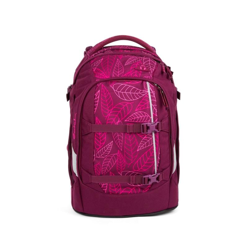 Studentský batoh Ergobag Satch - Purple Leaves  839650407d