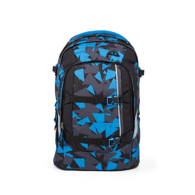 Studentský batoh Ergobag Satch - Blue Triangle  68fe622cc1