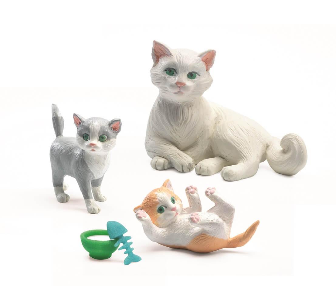Volné a pevné kočička
