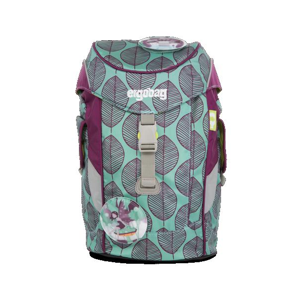 1373710e051 Dětský batoh Ergobag mini - fialovo zelený chameleon