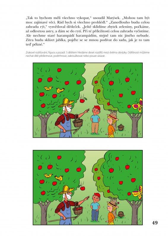 Rozvoj Zrakoveho Vnimani Pro Deti Od 5 Do 7 Let Agatin Svet