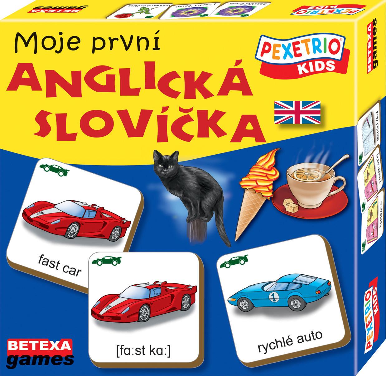 e4bc92095 Pexetrio kids - Moje první anglická slovíčka | Agátin svět