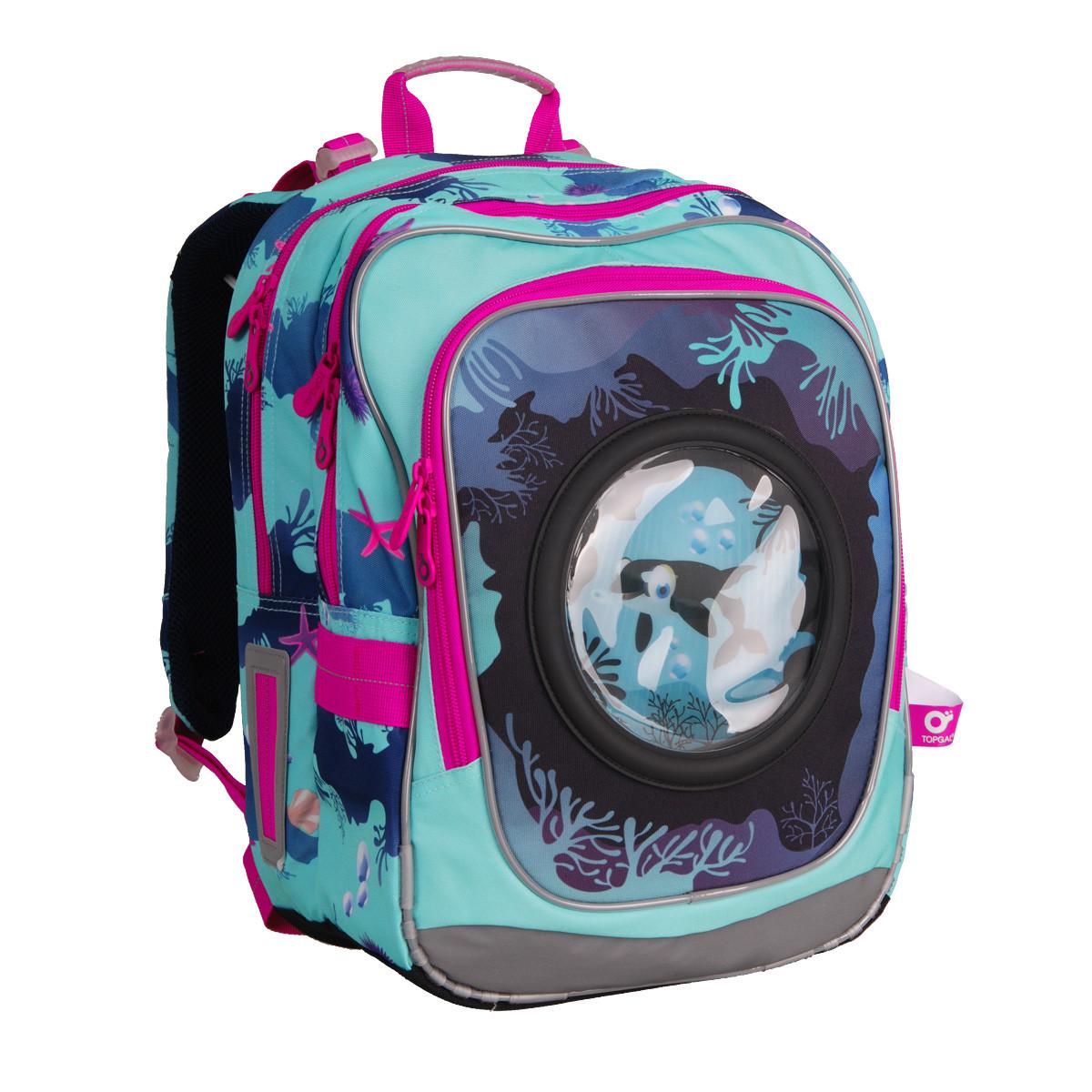 840d8a77fc7 Školní batoh Topgal - CHI 790 D Blue