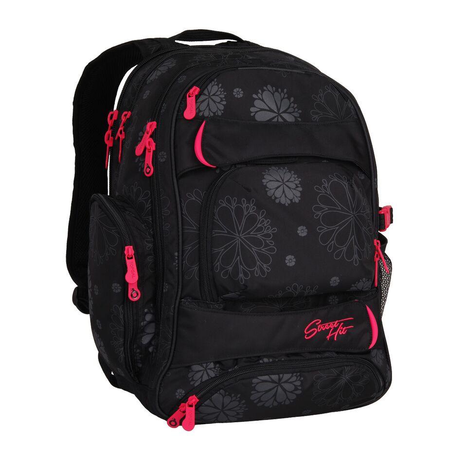 Studentský batoh Topgal - HIT 863 A - Black  96c0d5aaa1