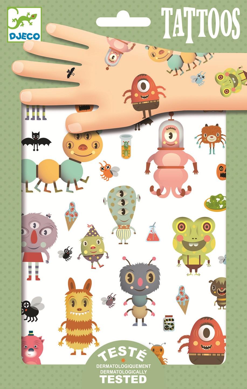 ab5a819bd75 Tetování - příšerky