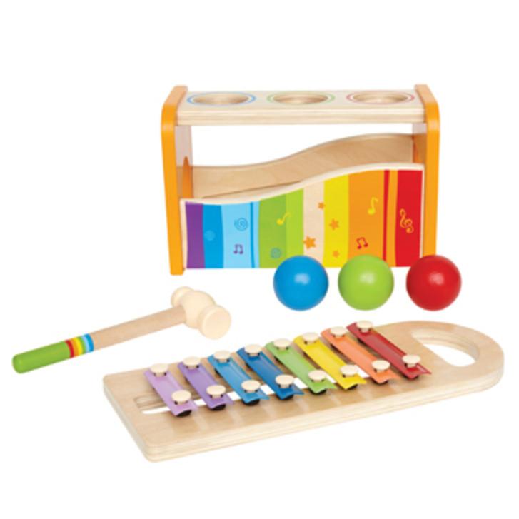 Dřevěná zatloukací hračka