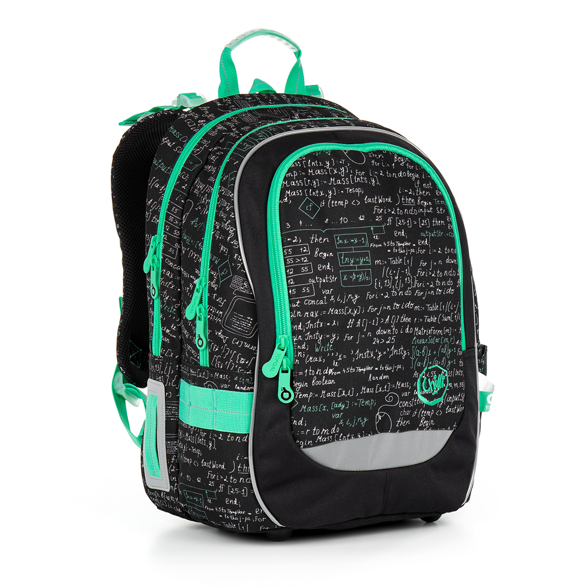 928f08eba48 Školní batoh TOPGAL - CHI 866 A - Black
