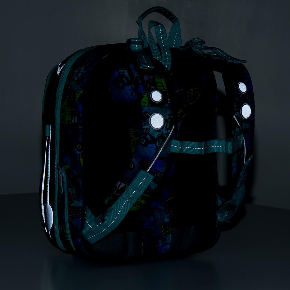reflexní test školního batohu reflexní test školního batohu 10325b96fa