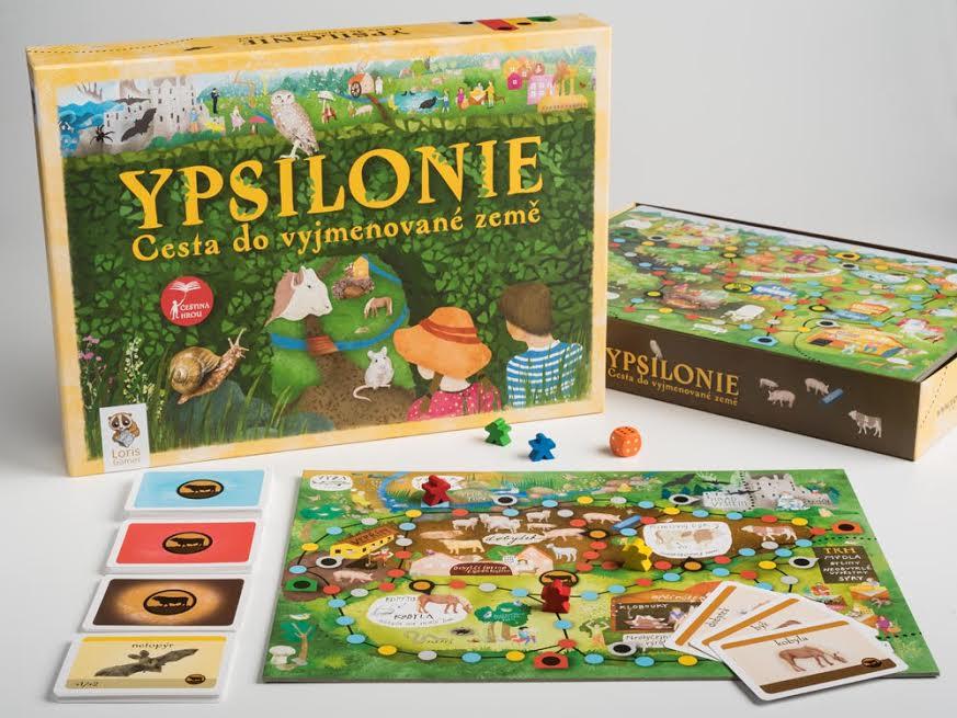 hra o vyjmenovaných slovech Ypsilonie