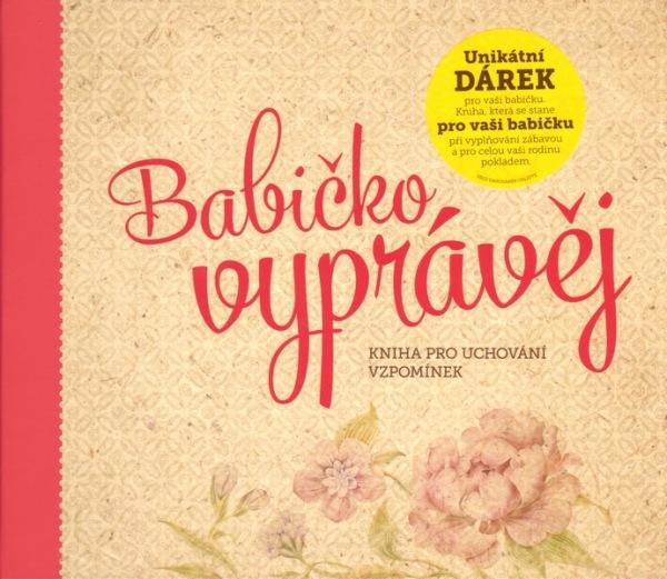 dárek pro babičku vzpomínková kniha