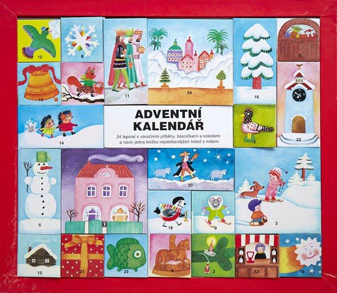 knížkový adventní kalendář pro děti