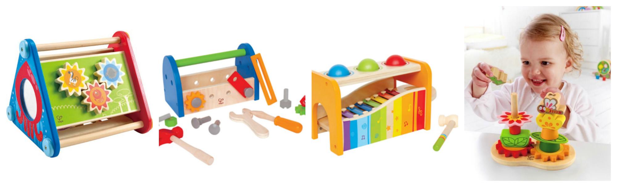 Dřevěné hračky pro nejmenší Hape