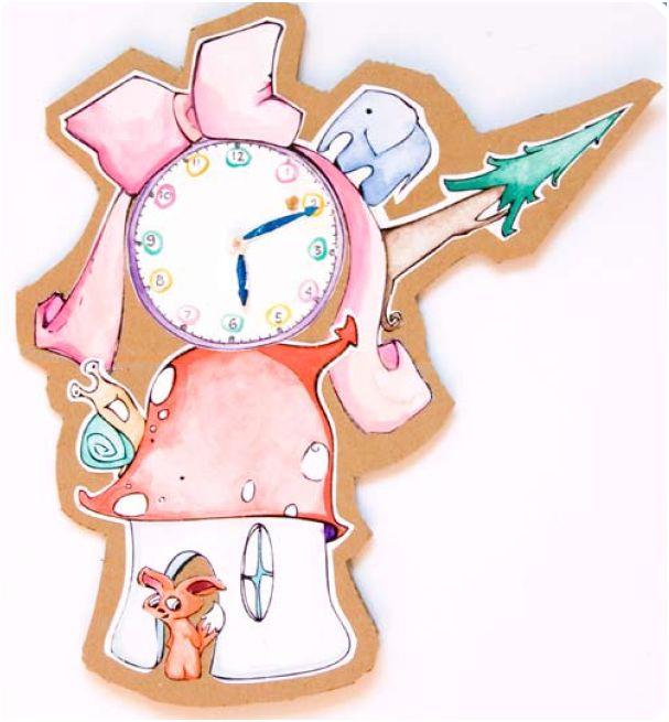 Didaktické hodiny pro děti