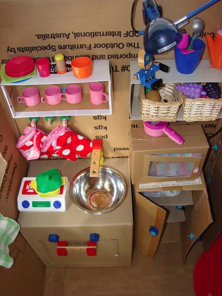 kuchyňka pro děti makedo