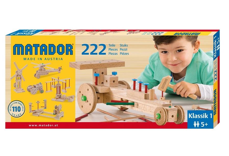 dřevěná stavebnice Matador