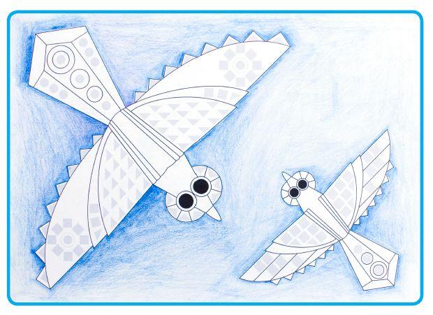 Šablona pro mozaikové obrázky Djeco