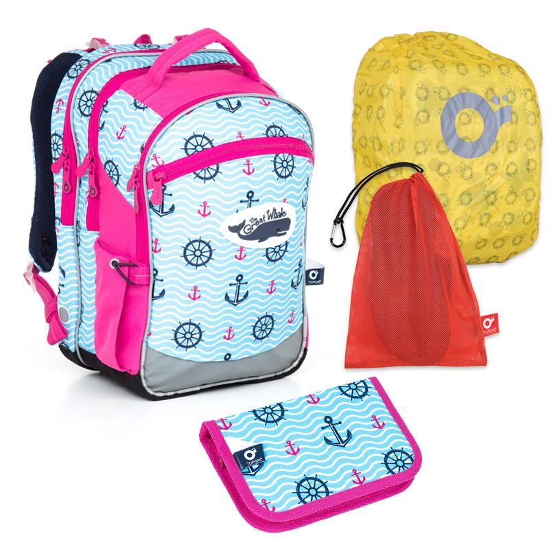 432bad19602 školní batoh CHI 802 set Topgal ...