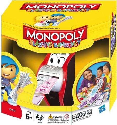 Monopoly Bláznivé bankovky - nová verze