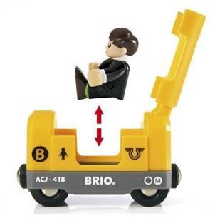 Brio vagónek metra s figurkou