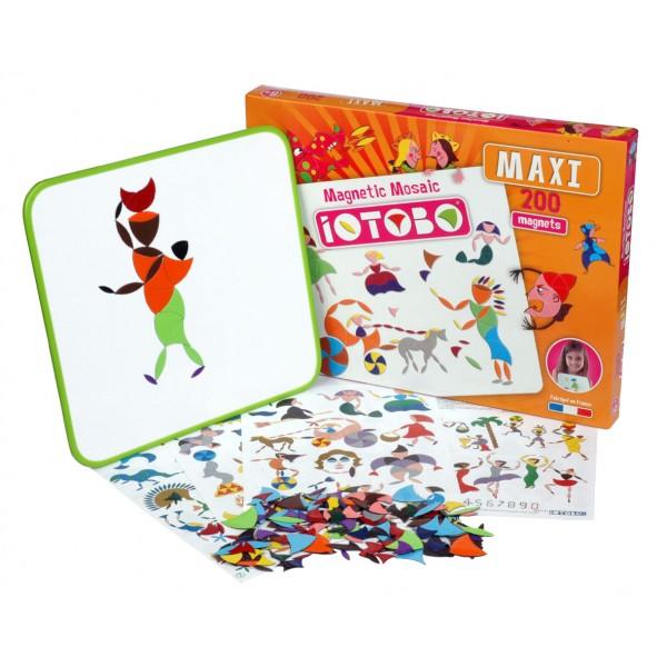 Magnetická skládačka pro předškoláky a prvňáky -iOTOBO