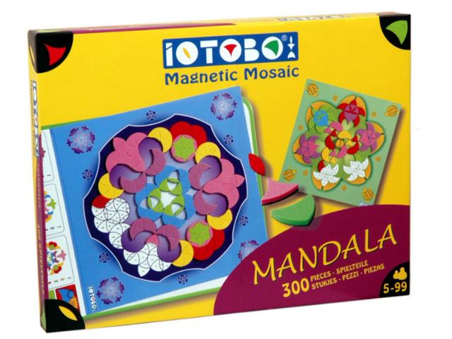 Magnetická skládačka Mandala