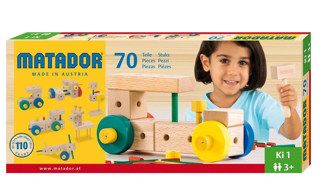 matador dřevěná stavebnice