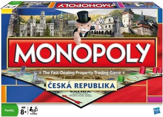 Monopoly Národní edice Česká republika