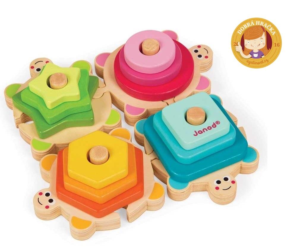 dřevěné hračky pro nejmenší