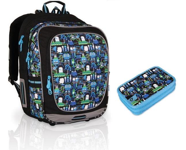 Zvýhodněné sady školních batohů Topal