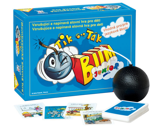 Didaktická hra pro děti Tik tak bum junior