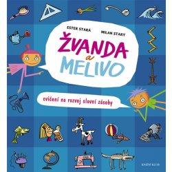 Logopedická knížka Žvanda a Melivo