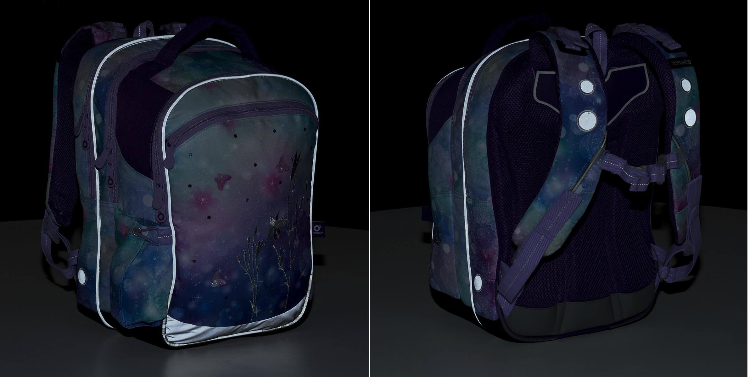 Školní batoh nebo aktovka: Reflexní prvky