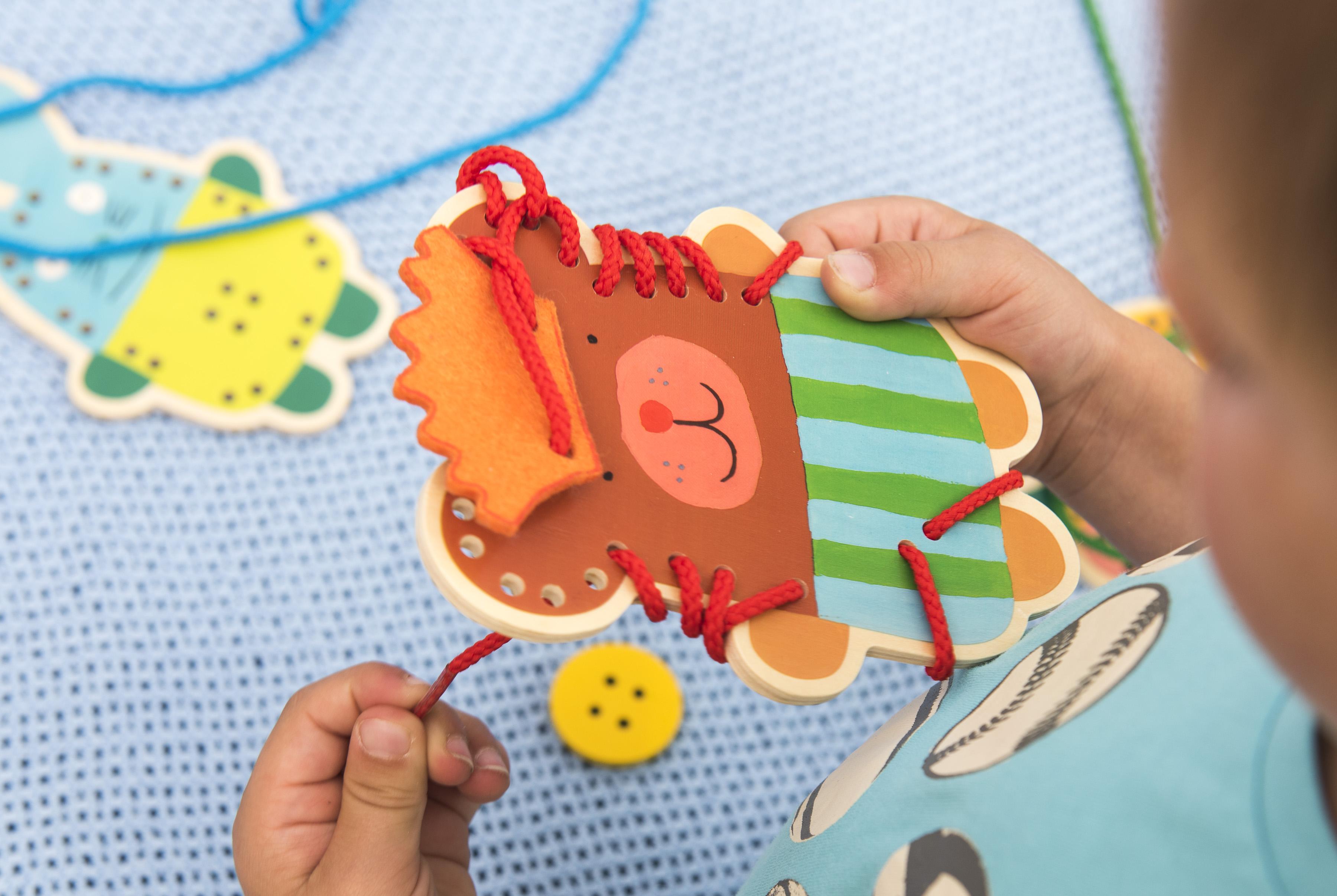 Montessori hry a pomůcky pro nejmenší