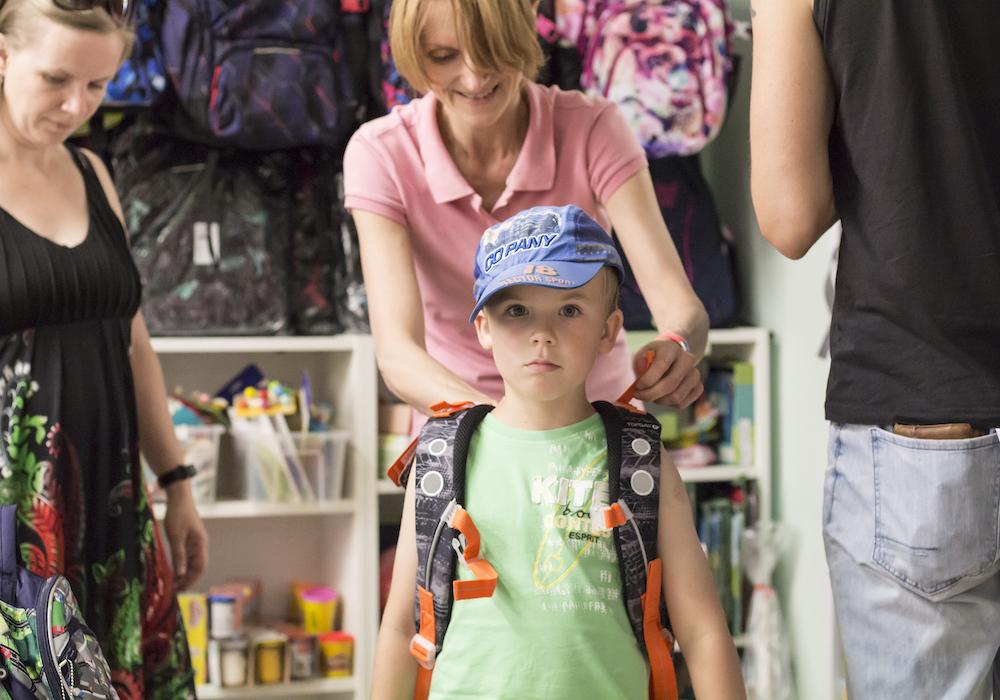 Školní batoh nebo aktovka: Velikost